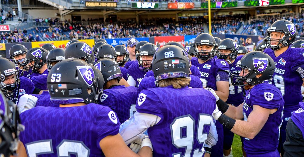 8861568d College of the Holy Cross Crusaders Football Prospect Camp - College ...
